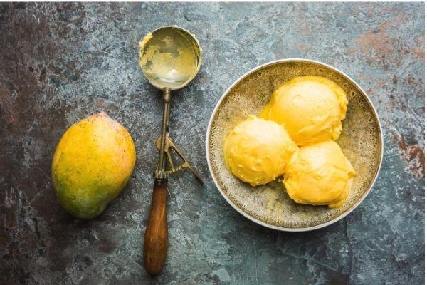 Helado de Mango y Platano -Slow Juicer-